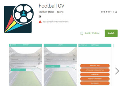 Football CV