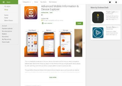 Advanced Mobile Information & Device Explorer