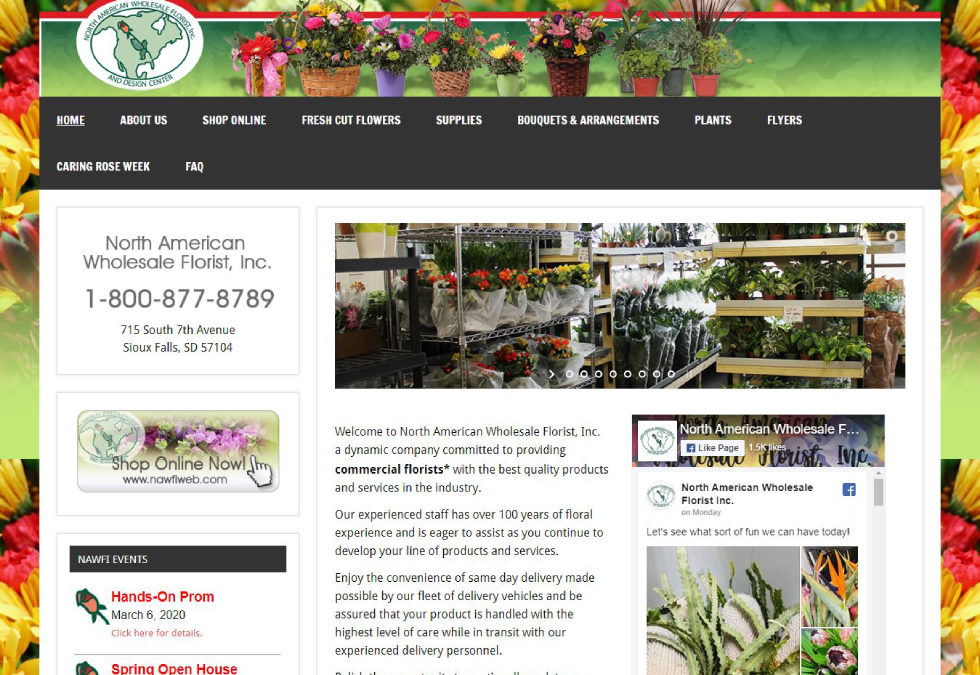 North American Wholesale Florist and Design Center