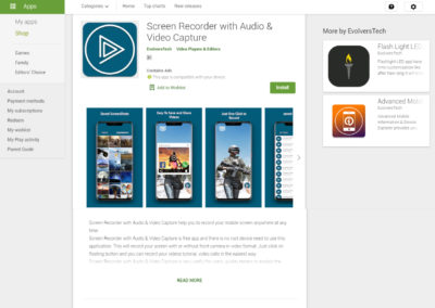 Screen Recorder with Audio & Video Capture